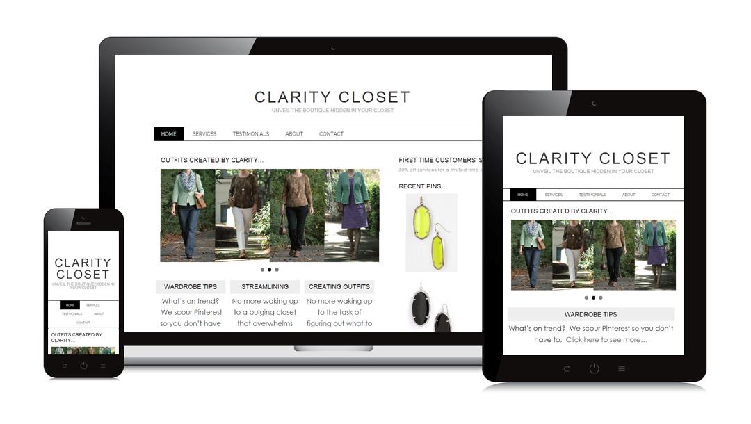 Clarity Closet